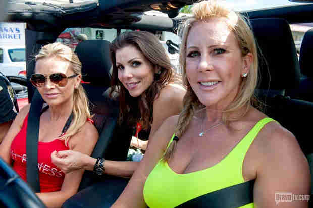 "Vicki Gunvalson: Tamra Barney and I Treated Heather Dubrow ""Really Bad"""