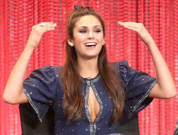 Nina Dobrev Is Clueless About Everything on The Vampire Diaries