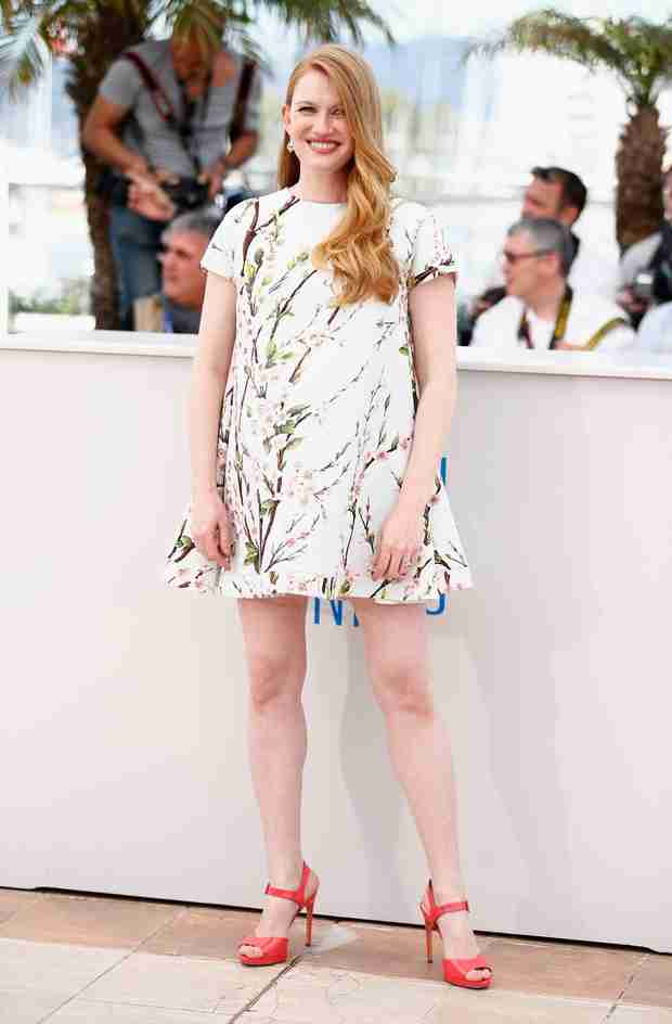 Mireille Enos Shows Off Her Baby Bump at the Cannes Film Festival