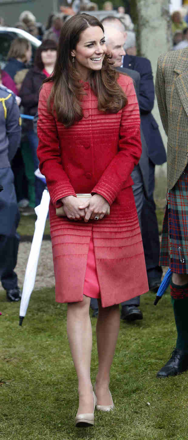 Kate Middleton and Prince William Visit Scotland Amidst Bare Butt Drama