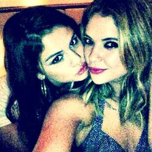 "Ashley Benson Felt Like She Had to ""Mother"" Selena Gomez on Spring Breakers Set"