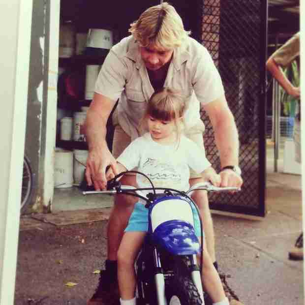 Flashback Friday: Bindi Irwin Shares a Rare Photo of Her Father, Steve (PHOTO)