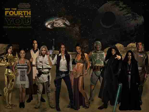 Pretty Little Liars Meets Star Wars — Check Out This Hilarious Crossover! (PHOTO)