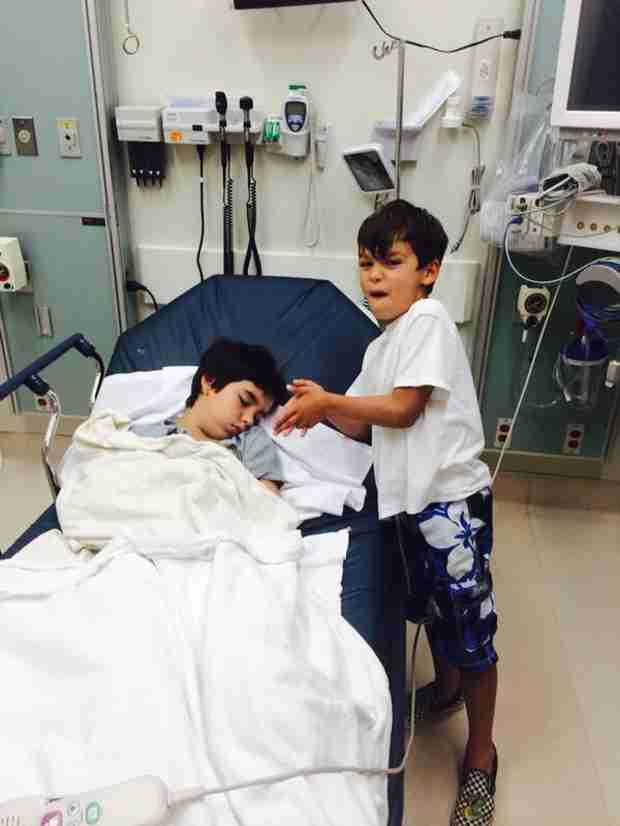 Brandi Glanville's Son Hospitalized Again Over Memorial Day Weekend — Why?