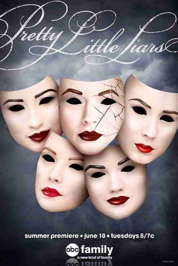 Pretty Little Liars Season 5 Poster Unveiled — Who Will Be the First to Crack? (PHOTO)
