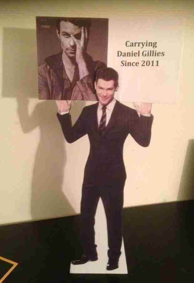 This Is What Daniel Gillies Keeps in His Dressing Room (PHOTO)