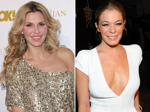 Brandi Glanville and LeAnn Rimes Arguing About Mother's Day?