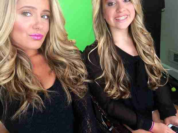 Kim Zolciak's Daughters Brielle and Ariana Are Her Gorgeous Mini Mes — See Here! (PHOTO)