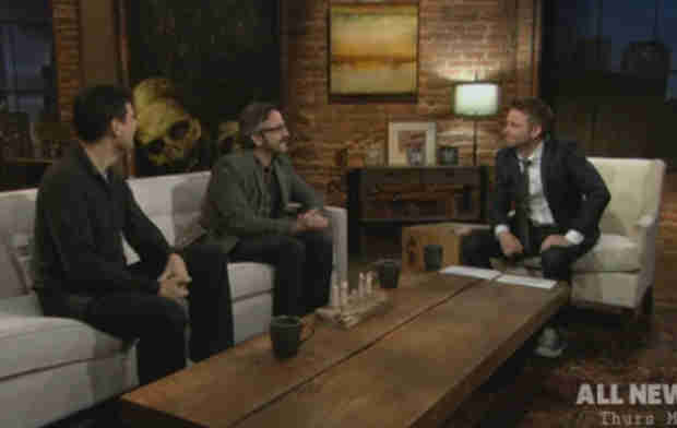 "Watch Chris Hardwick Skewer Fake Walking Dead Fan Marc Maron on ""Talking Dead"" (VIDEO)"