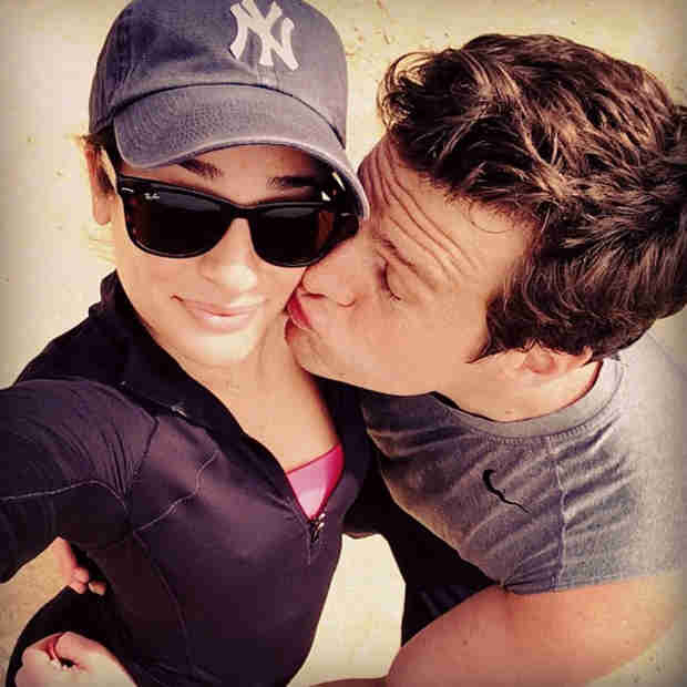 Lea Michele Writes About Jonathan Groff Coming Out to Her: Cory Told Me to Be Careful