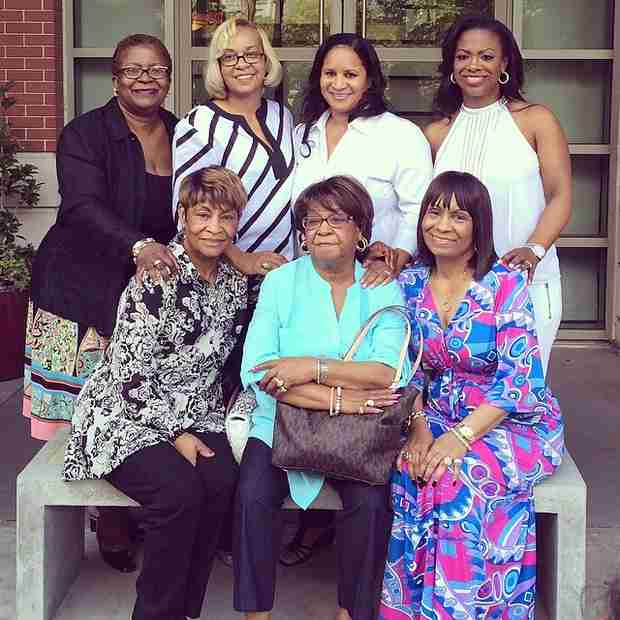 Kandi Burruss Spends Mother's Day With Mama Joyce and Todd Tucker (PHOTOS)