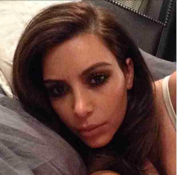 Kim Kardashian Resorting to All-Liquid Diet to Get in Wedding Shape?