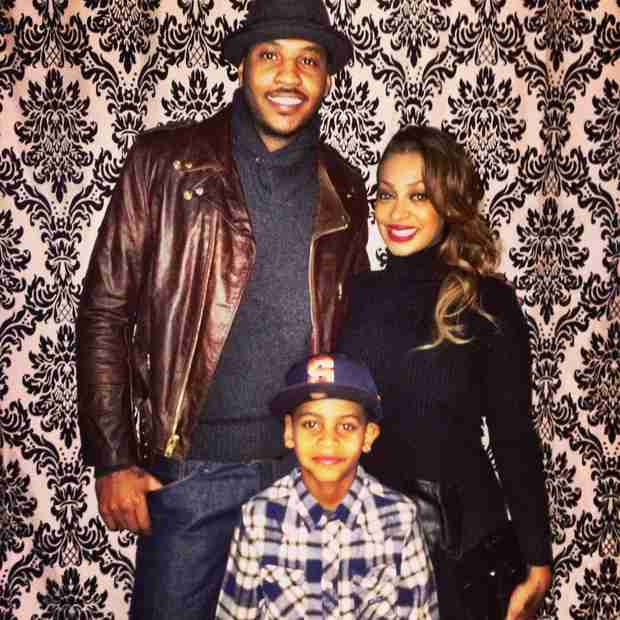 How Do La La and Carmelo Anthony Spend Time With Their Son? — See Their Family Photo!
