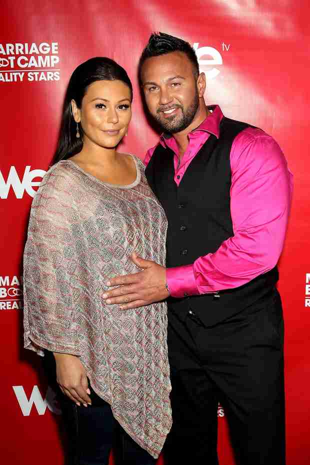 JWOWW and Fiancé Roger Had to Hide Their Pregnancy During Marriage Boot Camp! — Exclusive