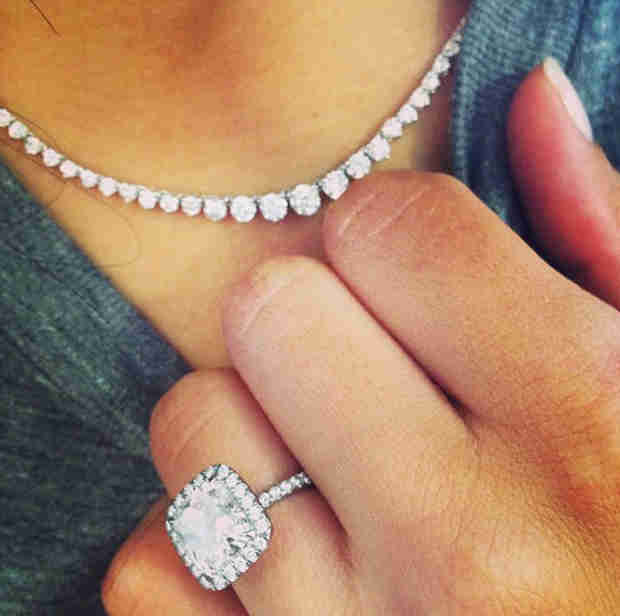 Naya Rivera Spotted Wearing Diamond Necklace Given to Her By Big Sean: Are They Back On?