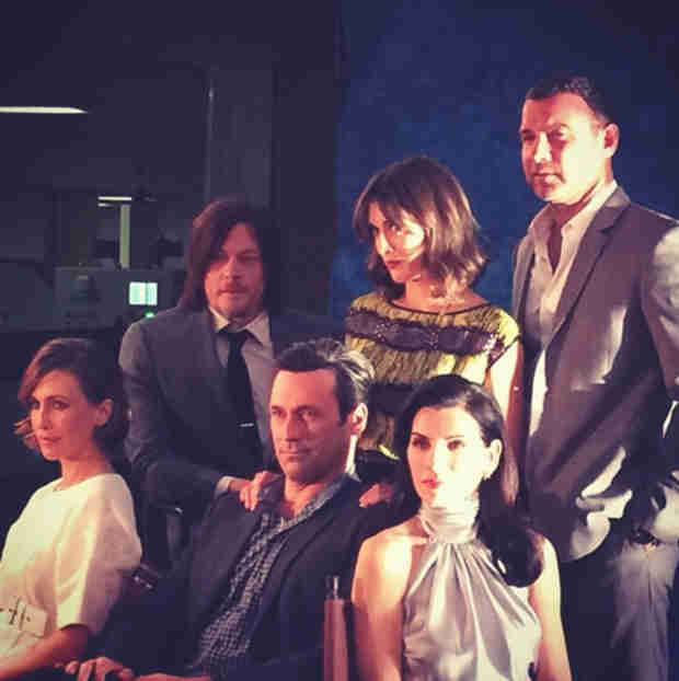 The Walking Dead's Norman Reedus Shares Photo With Major TV Stars — New Magazine Cover?