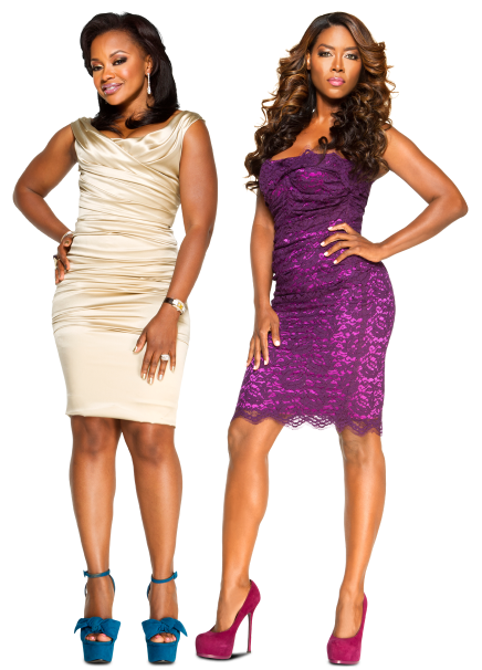 "Kenya Moore Calls Phaedra Parks ""Evil,"" Says the Devil ""Lives Inside"" Her"