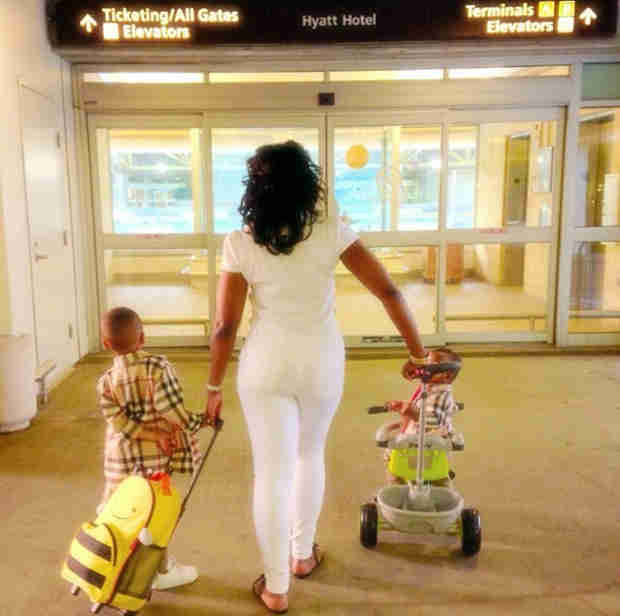 Phaedra Parks's Sons Dylan and Ayden Are Getting So Big — See Them Now! (PHOTO)