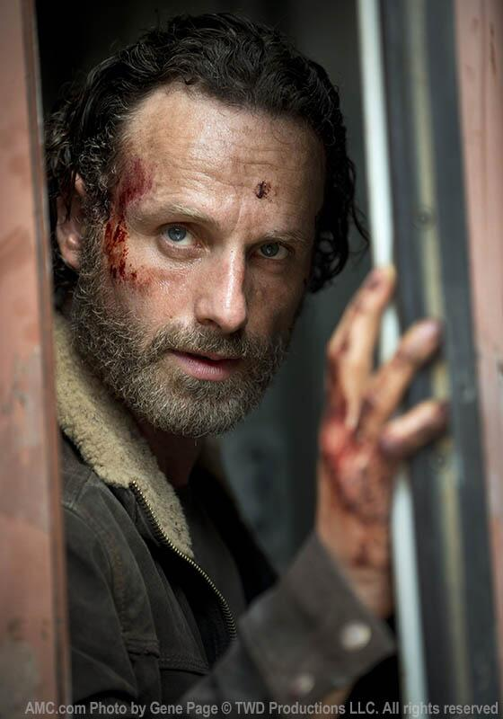 The Walking Dead Season 5 Premiere: First Photo — Rick Opens Terminus Train Car!