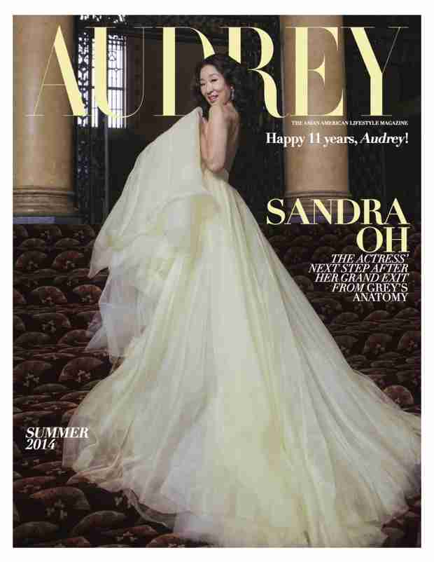 Grey's Anatomy's Sandra Oh is the Belle of the Ball on Audrey Magazine Cover