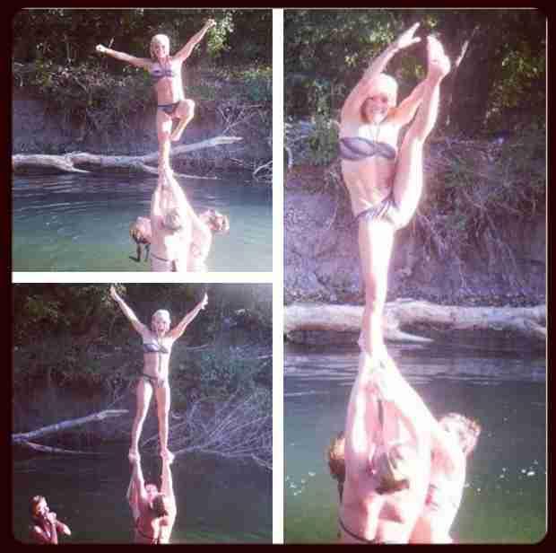 Mackenzie Douthit Gets Back Into Professional Cheerleading! (PHOTO)