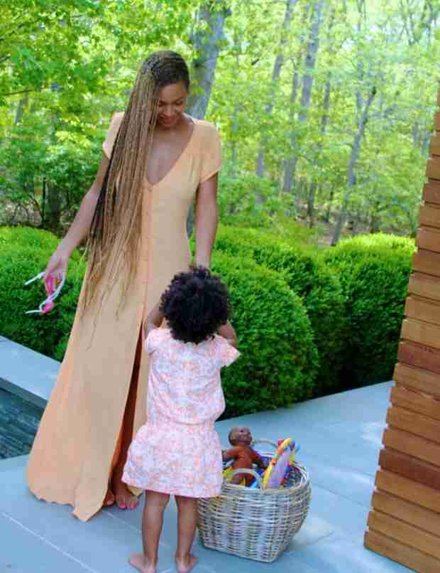 Beyonce Posts Adorable Photos of Blue Ivy — See How Big She's Gotten! (VIDEO)