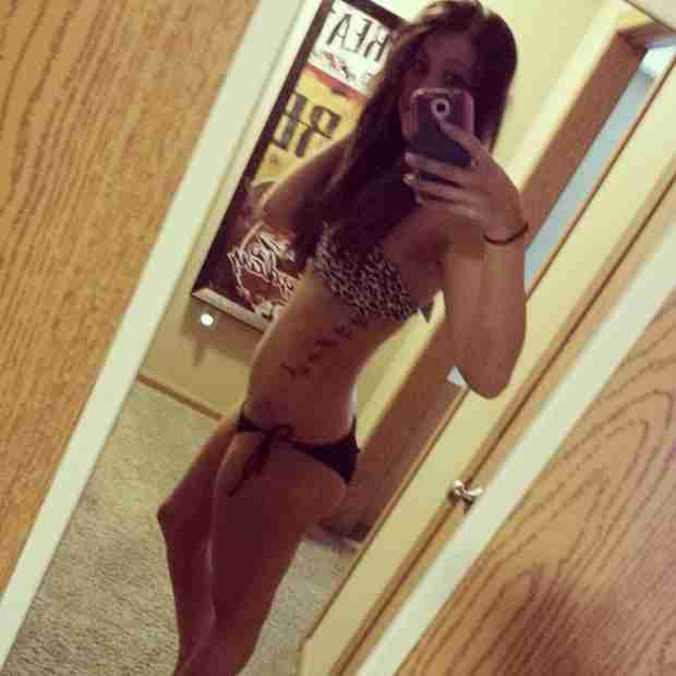 Taylor Halbur Shows Off Amazing Bikini Body Just Months After Giving Birth! (PHOTO)