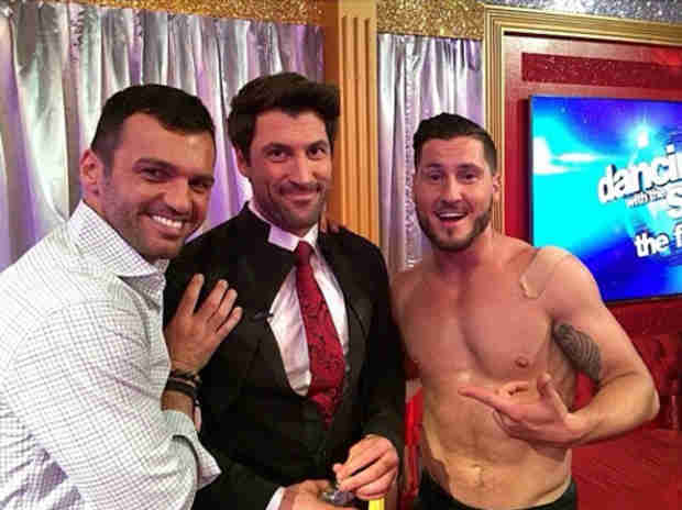 "Val Chmerkovskiy on Maks and Meryl: ""He Definitely Loves Her, and I Know She Loves Him Back"""