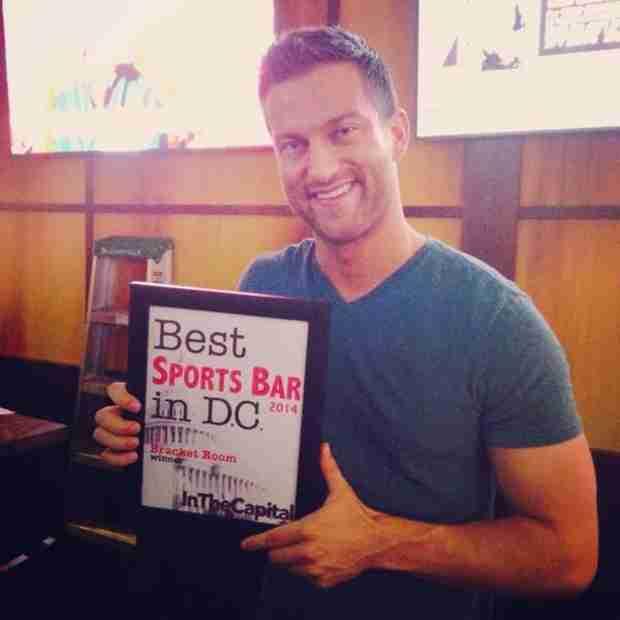 Chris Bukowski's Bracket Room Wins Best Sports Bar in Washington D.C.!
