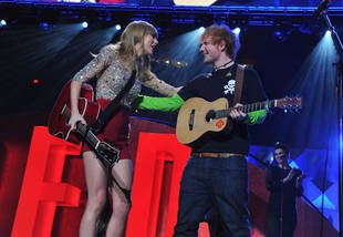 Ed Sheeran Dishes on His Girlfriend — And Who He Wants Taylor Swift to Date (VIDEO)