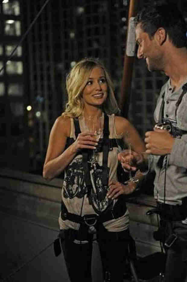 Emily Maynard Shades Ex Chris Bukowski for Crashing Season 10 Premiere