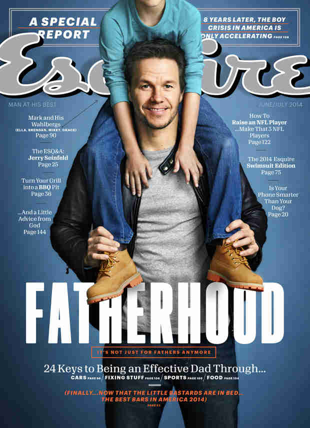 "Mark Wahlberg on Fatherhood: ""I Don't Want Them to Be Terrified of Me"""