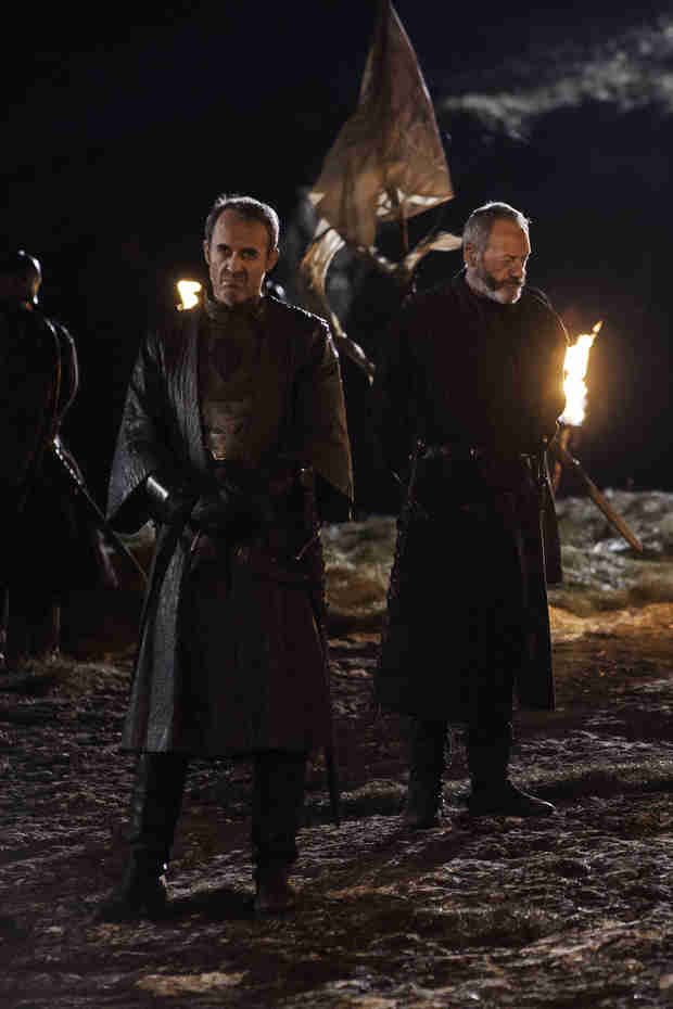 Game of Thrones Spoilers: Will Stannis and Davos Go to the Wall?