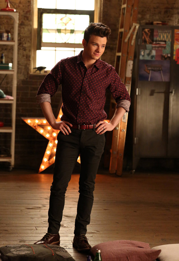 Chris Colfer on Glee Season 6