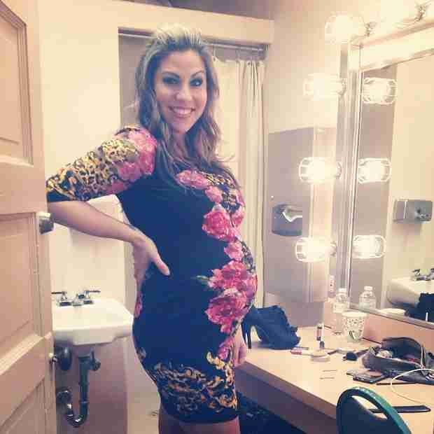 American Idol Alum Gina Glocksen Is Pregnant — She's Having a Girl! (VIDEO)