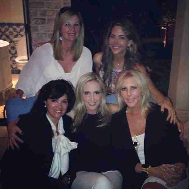 Shannon Beador and Vicki Gunvalson BBQ For Memorial Day — Besties Forever! (PHOTO)