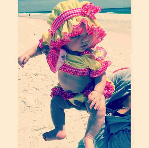 Kim Zolciak's Daughter Kaia Is Already Swimming at 6 Months Old! (VIDEO)