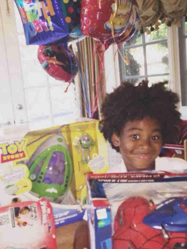 Kimora Lee Simmons' Son Turns 5  — Happy Birthday, Kenzo! (PHOTO)