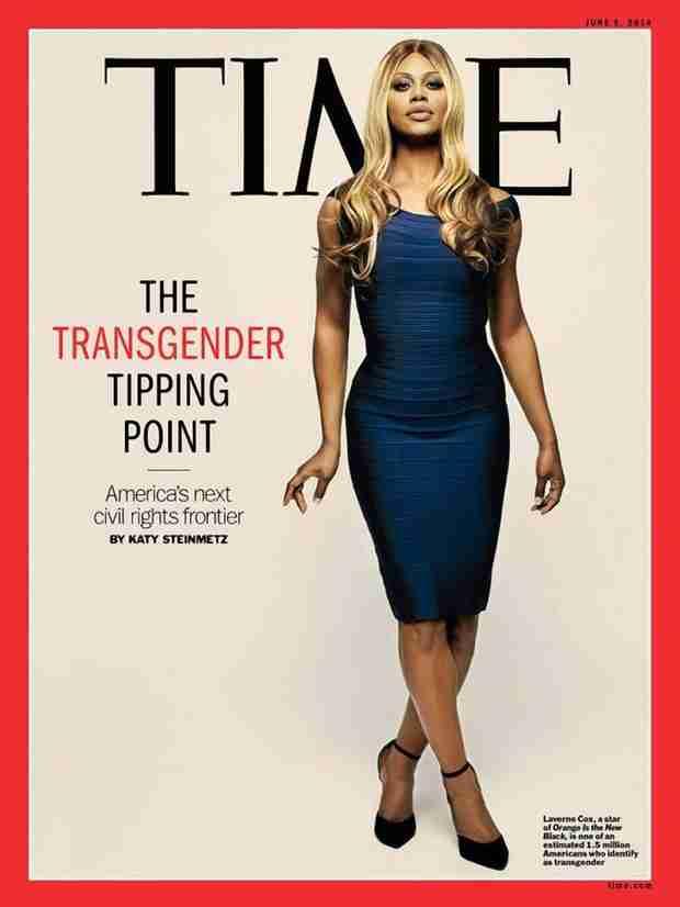 Laverne Cox Graces Cover of TIME, Discusses the Transgender Movement