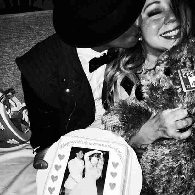 How Did Mariah Carey and Nick Cannon Celebrate Their Anniversary? (PHOTO)