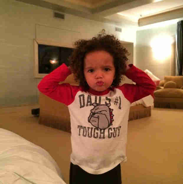 Mariah Carey and Nick Cannon's Daughter Monroe Mimics Her Mama! (PHOTOS)