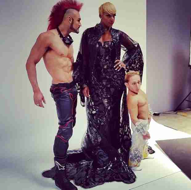 NeNe Leakes in Cirque Du Soleil — See Her as the Mistress of Sensuality! (PHOTO)