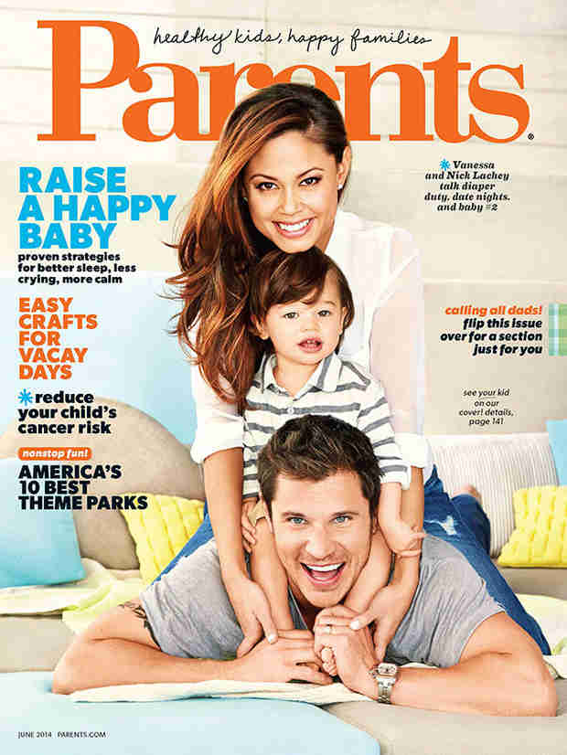 Nick and Vanessa Lachey Talk Parenthood and Pose with Camden For Parents Magazine!