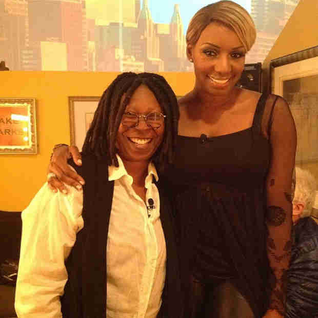 NeNe Leakes Hangs With Whoopi Goldberg — What Do They Talk About? (PHOTO)