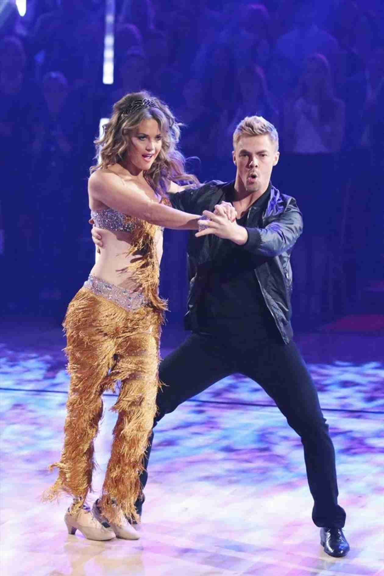 Dancing With the Stars 2014: Amy Purdy and Derek Hough's Week 9 Jazz (VIDEO)