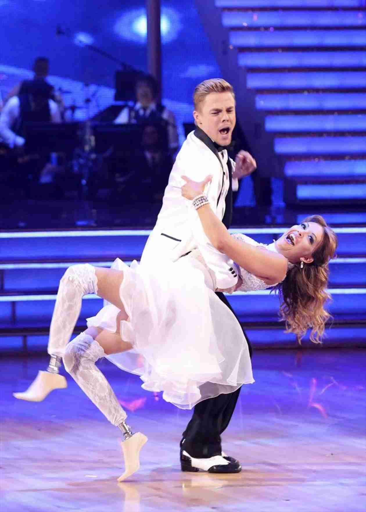 Dancing With the Stars 2014: James Maslow and Amy Purdy's Week 8 Jive Dance Duel (VIDEO)