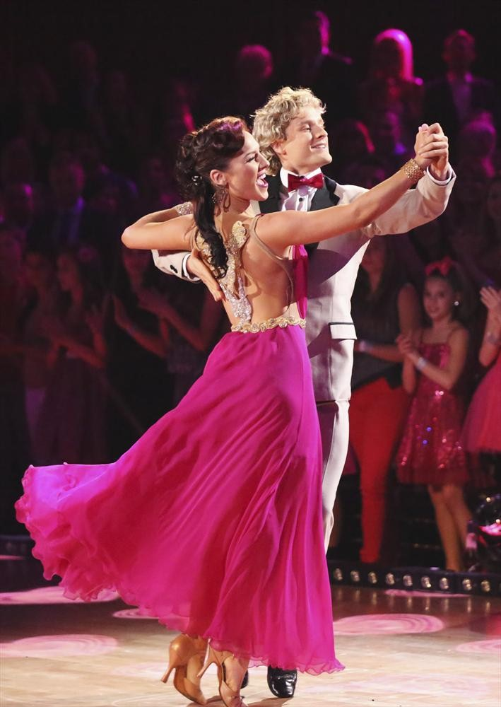 Dancing With the Stars 2014 Elimination: Charlie White Goes Home on Season 18, Week 9