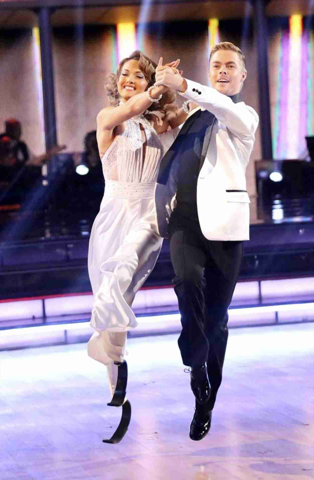 Dancing With the Stars Season 18: Amy Purdy and Derek Hough's 5 Best Dances (So Far)