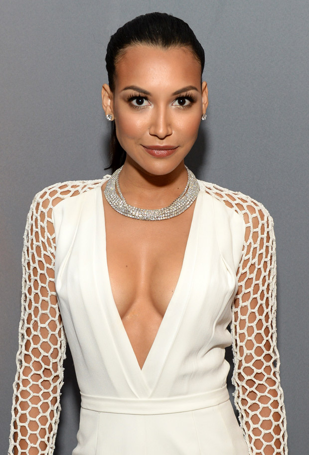 Naya Rivera Flaunts Bare Butt, Shows Off Bod in Thong Bikini (VIDEO)