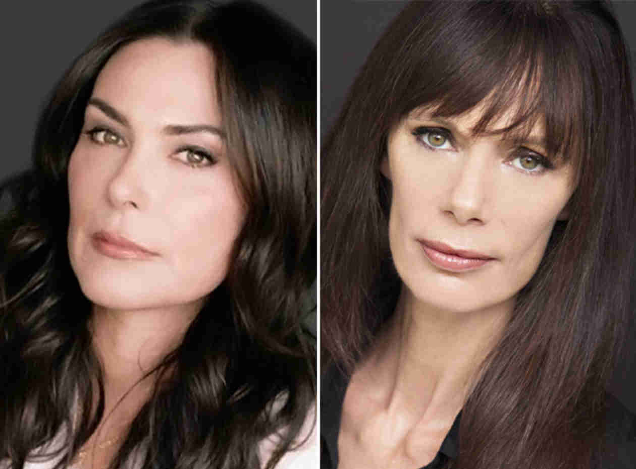 The Hunger Games: Mockingjay — Michelle Forbes and Eugenie Bondurant Cast